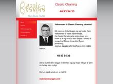 Classic Cleaning I/S Trine Bisgaard/Andrew Goggin